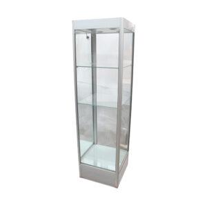 Glas display m. hylder