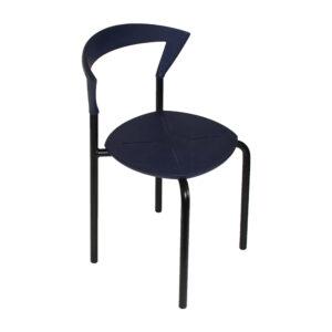 Plastik sæde med alu. ben