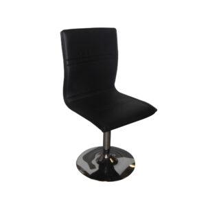 Simpel læderstol