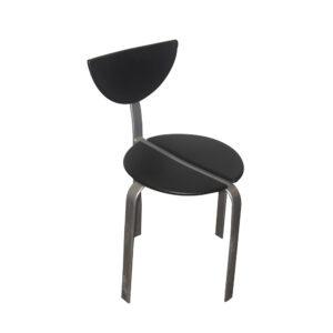 Sort plastik sæde
